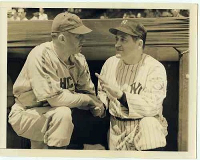 1939 All Star Game Managers - Hatnett & McCarthy