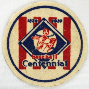 Centennial Patch worn by US Amature Team Cooperstown to Cuba