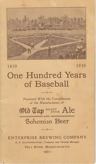1939 100 Years of Baseball, Enterprise Brewing Company