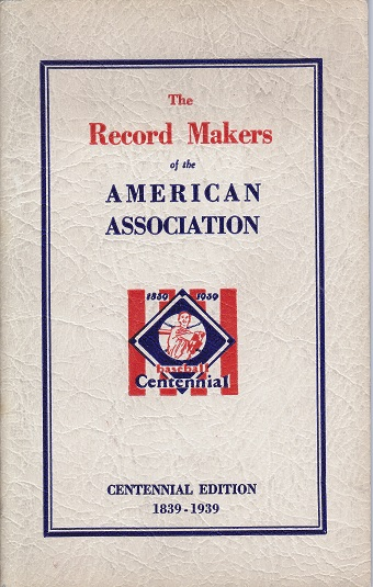 1939 American Association Records