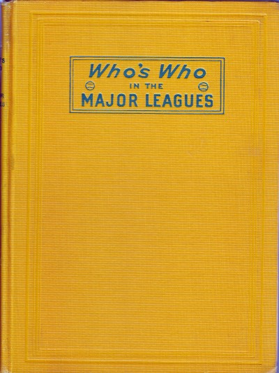 1939 Who's Who in the Major League