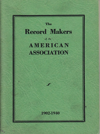 American Association Records 1902-1930