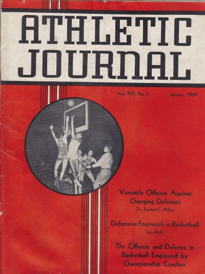 Athletic Journal January 1939