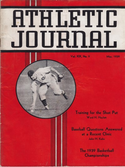 Athletic Journal May 1939