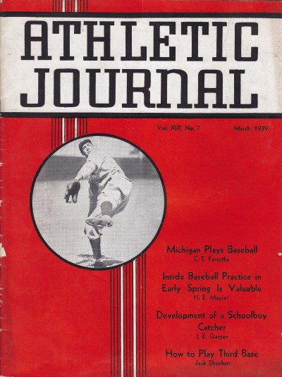 Athletic Journal March 1939