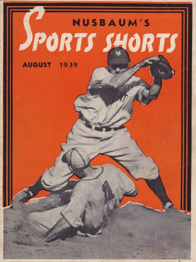 Sport Shorts August 1939