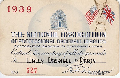 1939 National Association Minor Leagues
