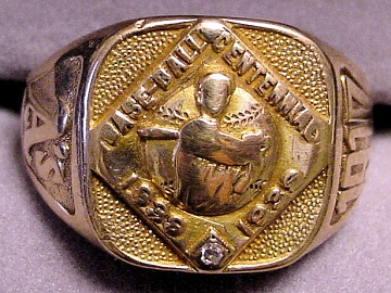 This ring was given to Cy Morgan of the 1910 Athletics.