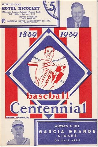 1939 Centennial Minor League Programs Amp Scorecards 1939