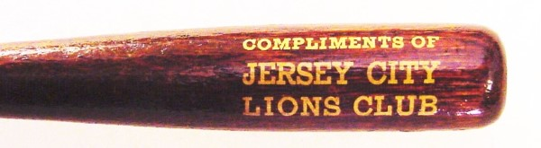 Mechanical Pencil Advertising Jersey City Lions Club