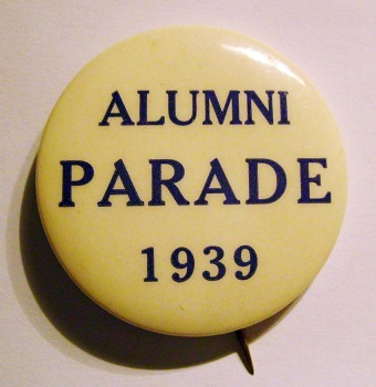 Alumni Parade Ticket Yale - Princeton Game June 17, 1939