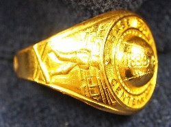 "Centennial Ring AKA ""Jack_Armstrong Ring"" Left Side"