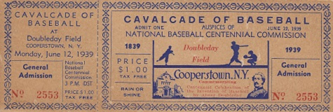 Cavalcade of Baseball General Admission