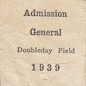 College Days May 6 General Admission Ticket