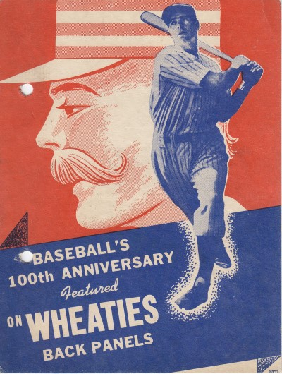 Baseballs 100th Anniversary - Front cover series of 8